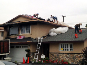 Fire Damage Restoration: Roofing in Progress