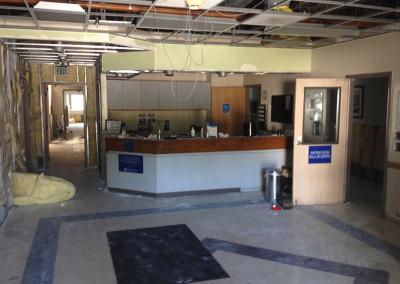 Water-Damaged Lobby