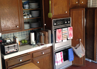 Kitchen Before Water Damage Restoration