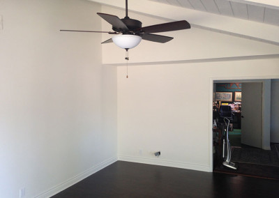 Living Room After Water Damage Restoration
