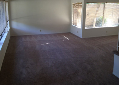 Living Room After Water Damage Restoration