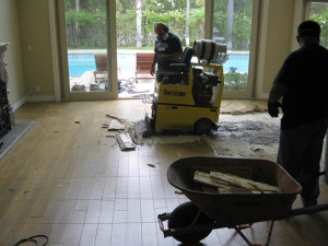 Water Damage to Flooring