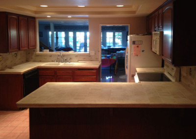 Lake Forest Home — Water Damage Restoration